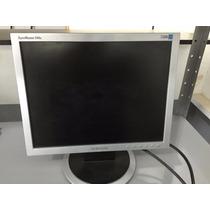Monitor Lcd 15pol Samsung Preto/prata (produto Usado)
