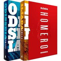 Box Homero - Odisseia E Ilíada 2 Livros - Capa Dura Lacrado
