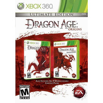 Jogo Dragon Age Origins Ultimate Edition Original Xbox 360