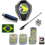 Super Kit Copa Do Mundo Completo Interior Automotivo Preto