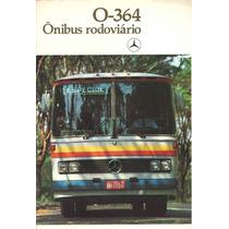 Catálogo Mercedes-benz Ônibus O-364 - Raros E Antigos