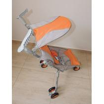 Carrinho De Bebe 3 Rodas Dobravél + Bolsa