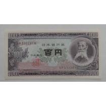 Japão: Bela Cédula 100 Yen De 1953 Fe