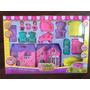 Casa De Brinquedo Barbie/polly Com Móveis E Acessórios