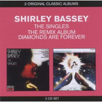 Shirley Bassey - 2 Cds - The Singles - The Remix Album