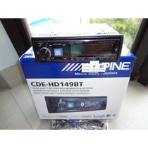 Cd Player Alpine Cde Hd149bt - 24 Bit Dac Bluetooth Plus