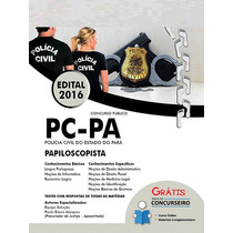 Apostila Polícia Civil Pc-pa 2016 - Papiloscopista