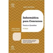 Informática Para Concursos João Antônio Carvalho E-book