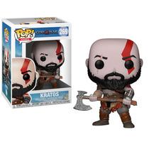 Funko Pop Novo Kratos 269 God Of War Boneco Game
