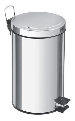 Lixeira Com Pedal Em Aço Inox 12 Litros - Tramontina
