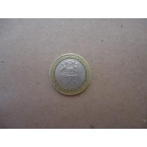 Moeda Linda Bi- Metálica Do Chile- 100 Pesos De 2008