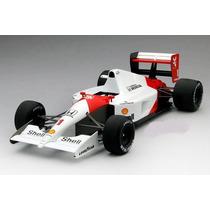 Miniatura F1 Mclaren Mp4/6 Ayrton Senna Campeão Tsm 1:18
