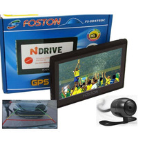 Gps Automotivo Foston Tela 4,3 3d Fs-473 Tv Digital Cam Ré