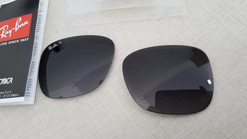 25e50bc6b Lente Polarizada Ray-ban Justin Cinza Degradê Original à venda em ...