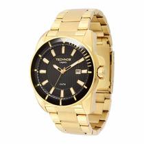 Relógio Technos Masculino Dourado Legacy 2315aap/4p