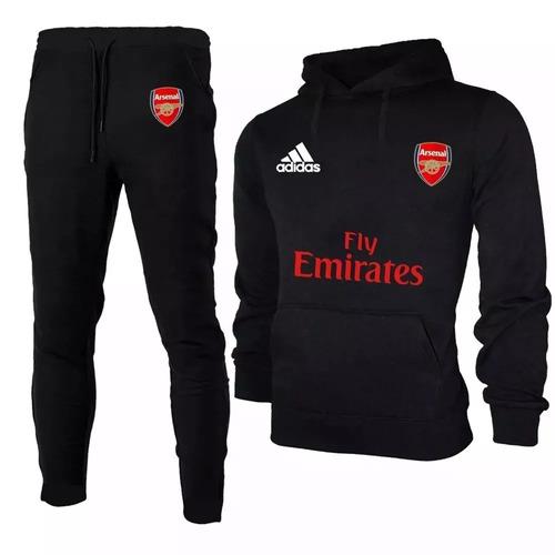 5ab1d2933e Conjunto Blusa De Frio+calça Moleton Time Arsenal Futebol ! - R  118 ...