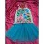 Fantasia Infantil Princesas Frozen Elsa Coroa Blusa E Saia