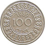 Suriname - 100 Cents 1989
