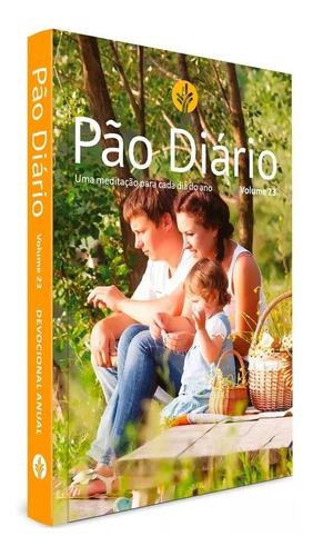 Livro Pão Diário Vol. 23 / Ano 2020 - Capa Família