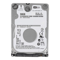 Hd Wd Notebook 500gb Western Digital Slim 7mm