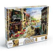 Puzzle 2000 Peças Villaggio D'italia Grow
