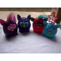 Lote 4 Bonecos Furby Mac Donald 2014