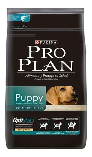 Ração Pro Plan Optistart Puppy Para Cachorro Filhote Da Raça Grande Sabor Frango/arroz Em Saco De 15kg