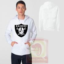 Blusa Oakland Raiders Moletom Canguru - Promoção !