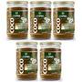 Açúcar De Coco De 350 Grs Copra Kit Com 05 Unidades
