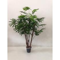 Planta Artificial Palmeira Raphis X4 100cm 81049