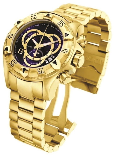f336ef13568 Relógio Masculino Prata E Dourado Barato Pesado Aço. R  87.8