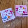 Kit 30 Caixinhas Acrílicas Lembrança Infantil Aniversário