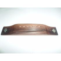 Cavalete Especial Abalone Violão 6 Cordas Rosewood Luthier