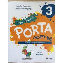 Livro Porta Aberta Portugues 3 Ano - Edicao Renovada
