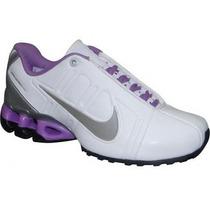 Tenis Nike Impax - Branco, Lilás E Prata - Original