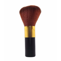 Pincel De Maquiagem Para Pó Compacto Profissional - Preto