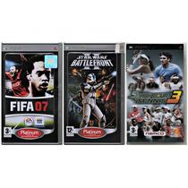 Star Wars Battlefront Ii Fifa 07 Tennis 3 Psp