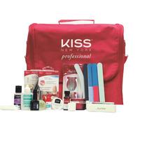 Kiss New York (first Kiss) Kit Gel E Acrygel Profissional Se