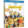 Blu-ray: 3d & 2d Minions - Original - Novo - Lacrado
