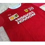 Camiseta Ferrari  Santander Lancamento V Original