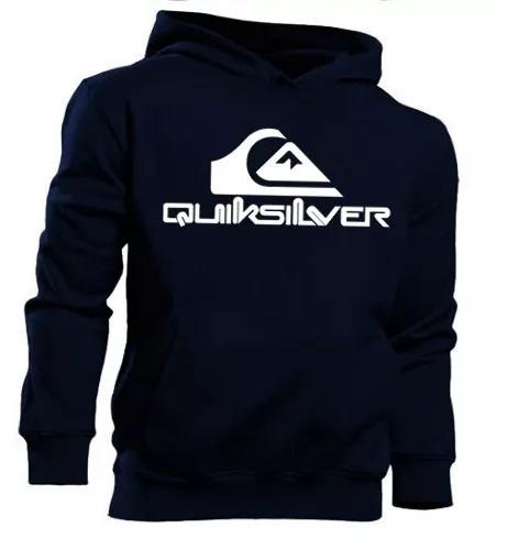 Blusa Moleton Quiksilver Skate Surf Masculino E Feminino - R  69 en ... 13a7f2f2ca