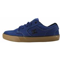 Tênis Dc Shoes Skate Original Azul Marinho Nyjah Huston Novo