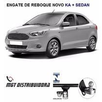 Engate De Reboque Novo Ka + Sedan