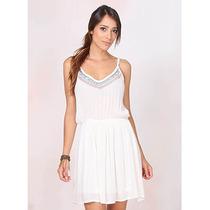 Vestido Indiano Lara - Branco