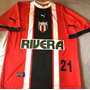 Camisa Botafogo Sp Usada Jogo 2001 Raríssima