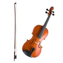Violino Vogga Von134 - 3/4 - Arco De Crina Animal