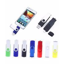 Pen Drive 16gb Usb E Micro Usb Celular Otg Duas Entradas