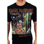 Camiseta Consulado Do Rock E515 Iron Maiden Camisa Banda Original