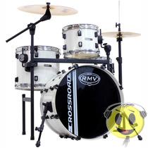 Bateria Rmv Crossroad Pro Jazz 1 Ton Rack E Pedal Kadu Som