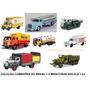 Coleção Caminhões Brasileiros Antigos Os 8 Juntos